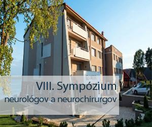 VIII. Sympózium neurológov a neurochirurgov